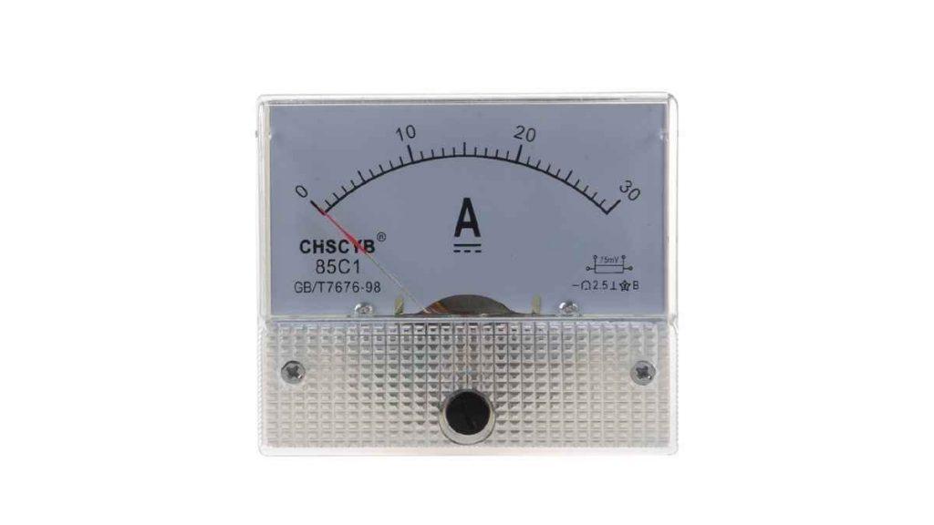 amperemeter analog